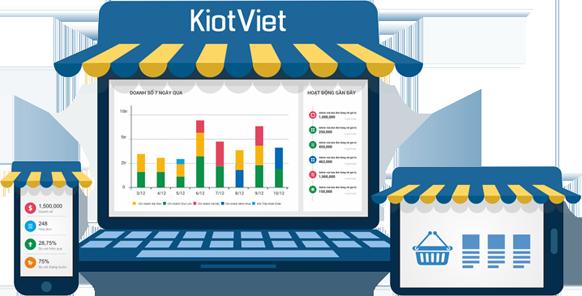 Phần mềm hỗ trợ bán hàng - Kiot Việt