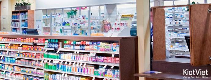 Kinh nghiệm mở cửa hiệu thuốc Tây