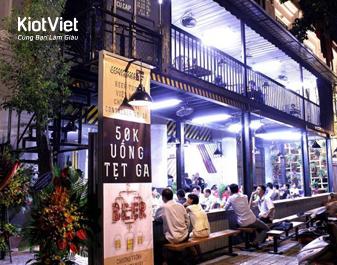 QUÁN BIA CONTAINER NO.15 – Bia tươi đậm đà hương vị Việt