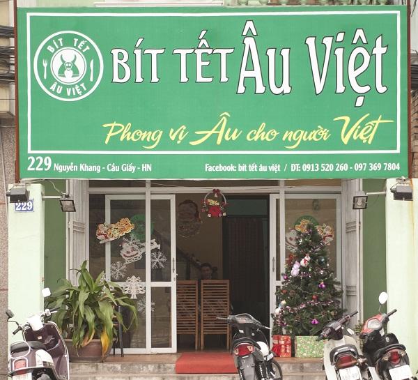 BÍT TẾT ÂU VIỆT – Phong vị Âu cho người Việt