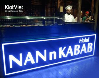 NANnKABAB - Nhà hàng ẩm thực Trung Đông độc đáo