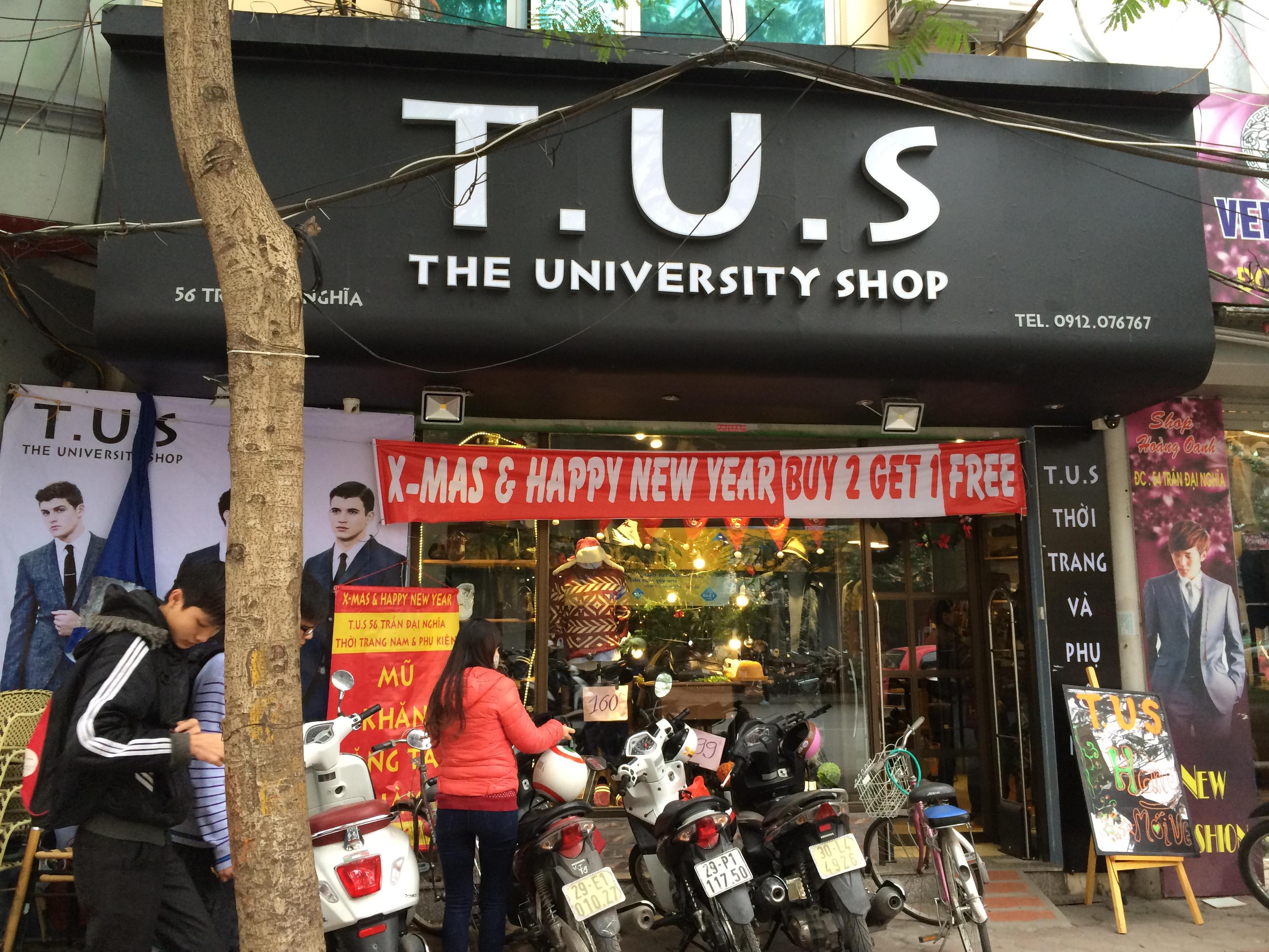 Cửa hàng TUS, 56 trần đại nghĩa