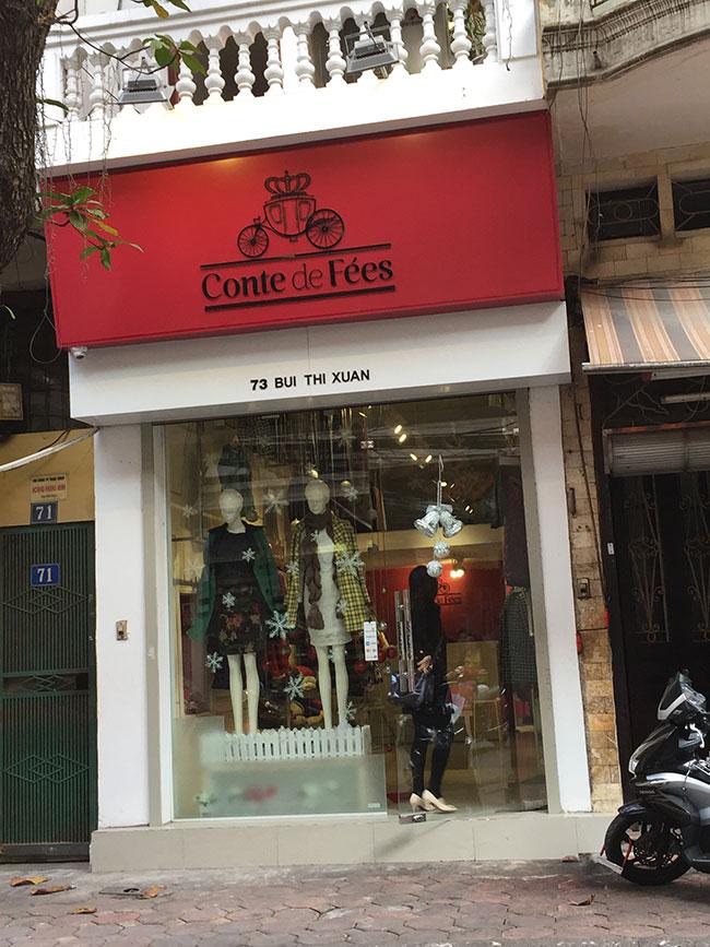 Conte de Fées shop