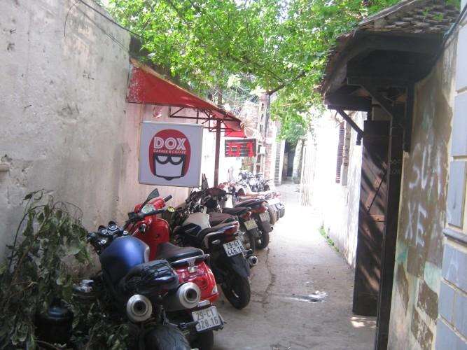 DOX garage & coffee: Biến ước mơ thành hiện thực