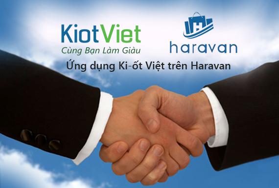 Ứng dụng Ki-ốt Việt trên hệ thống website bán hàng của Haravan