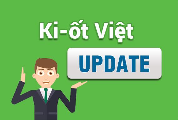 Ki-ốt Việt cập nhật phương thức order mới