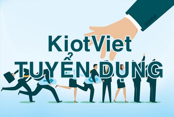 KiotViet tuyển dụng nhân viên kinh doanh