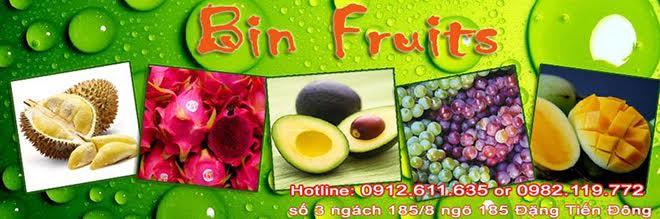 BIN FRUITS - Suối nguồn nông sản sạch