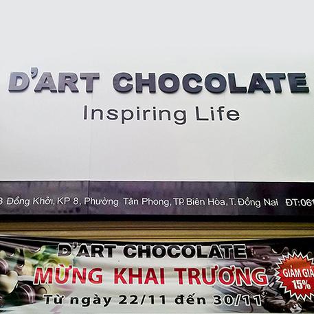 D'ART CHOCOLATE – Đánh thức vị ngọt trong bạn