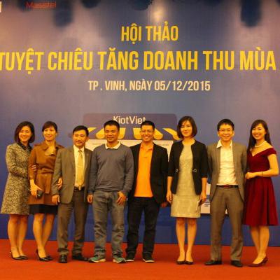 """Những """"Tuyệt Chiêu"""" được hé lộ tại Hội thảo kinh doanh ở Nghệ An và Quảng Ninh"""