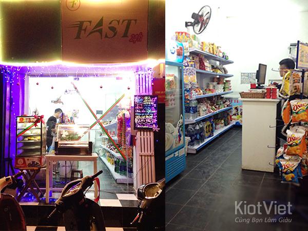 FAST 24H – Cửa hàng tiện ích phục vụ mọi nhu cầu khách hàng