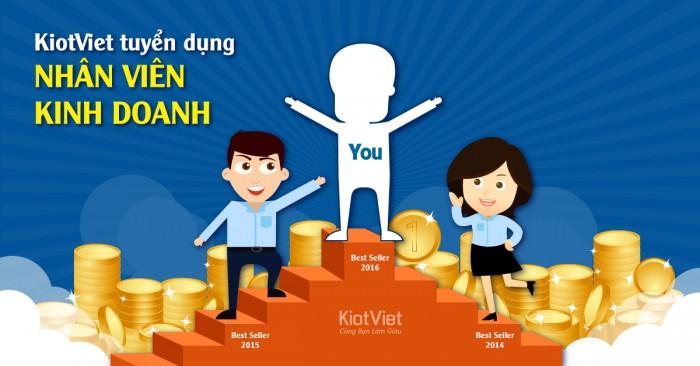 KiotViet tuyển dụng Chuyên viên kinh doanh