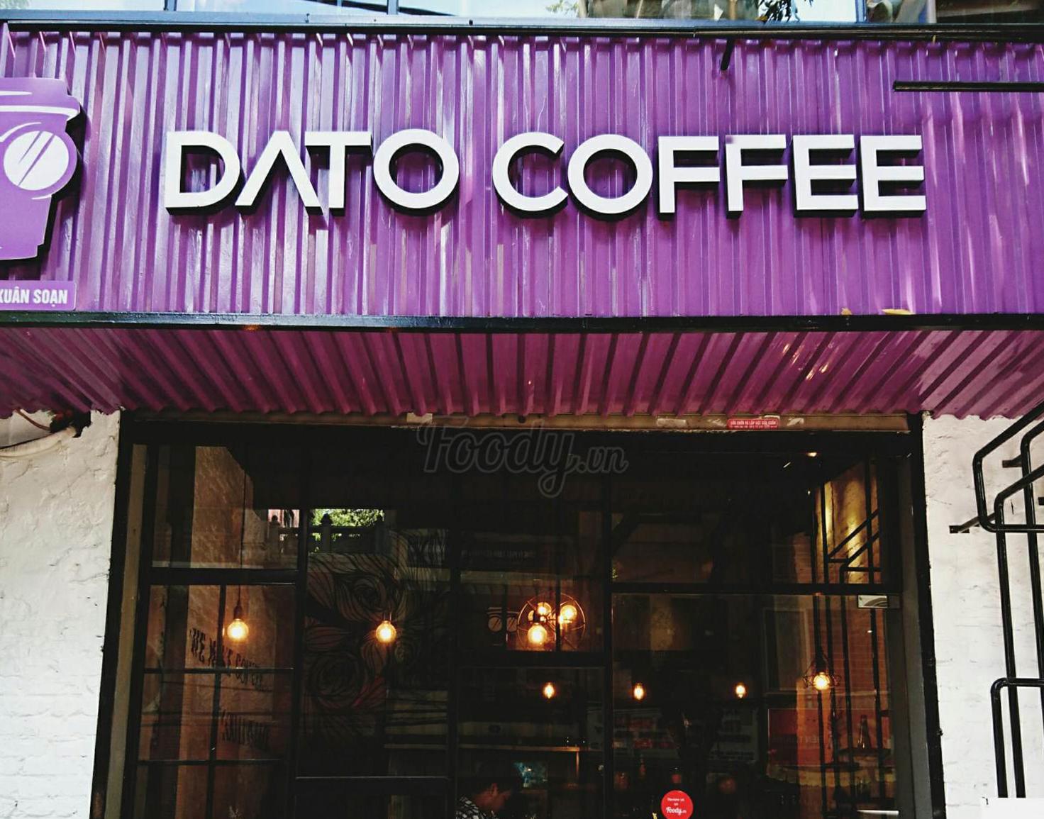 DATO COFFEE - Quán cafe ngôn tình đầu tiên tại Hà Nội