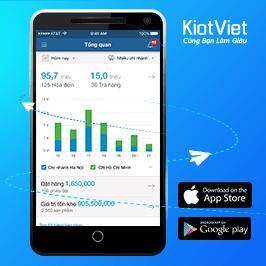 Quản lý bán hàng mọi lúc, mọi nơi nhờ ứng dụng di động của KiotViet