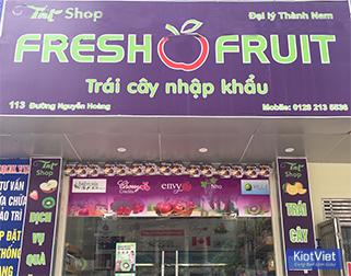 TNT SHOP – Chuyên hoa quả sạch, trái cây nhập khẩu