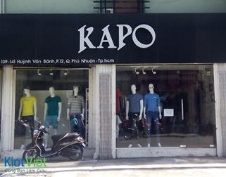 KaPO – Chuỗi 15 cửa hàng THỜI TRANG NAM CAO CẤP