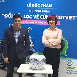 KẾT QUẢ BỐC THĂM 'Đổi xế - Lộc về cùng KiotViet'