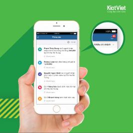 KiotViet nay đã có tính năng THÔNG BÁO trên iOS