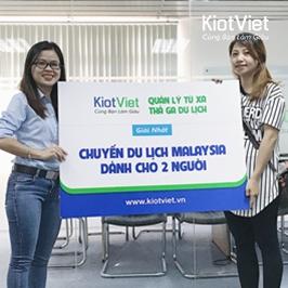 KiotViet trao giải CHUYẾN DU LỊCH MALAYSIA cho khách hàng