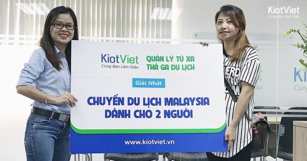 kiotviet-trao-giai-chuyen-du-lich-malaysia-cho-khach-hang