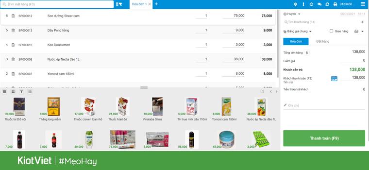 Phần mềm quản lý bán hàng KiotViet