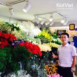 4 cách TRƯNG BÀY cửa hàng hoa tươi ẤN TƯỢNG