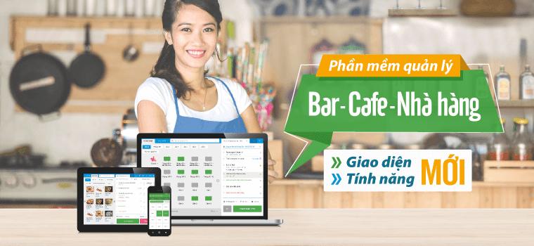 KiotViet dành cho Bar - Café - Nhà hàng: RA MẮT GIAO DIỆN MỚI, TÍNH NĂNG MỚI