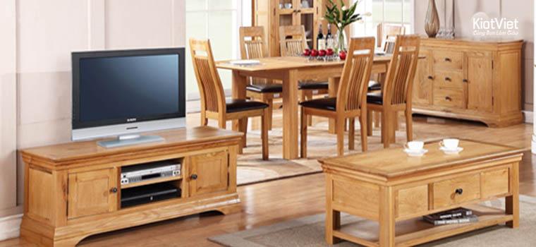 Kinh doanh đồ gỗ nội thất phải biết rõ vật liệu, chất liệu