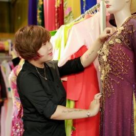 4 nguồn hàng giá rẻ cho NGƯỜI KINH DOANH VẢI ÁO DÀI ở Hà Nội