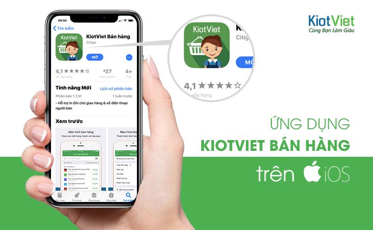 app bán hàng kiotviet