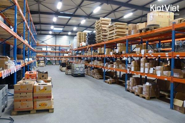 Sắp xếp hàng hóa cẩn thận sẽ giúp kiểm soát hàng hóa hiệu quả hơn
