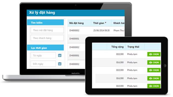 Phần mềm quản lý đơn hàng KiotViet giúp quản lý đơn hàng hiệu quả