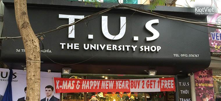 Thời trang T.U.S Shop: May mắn gặp KiotViet khi khởi nghiệp