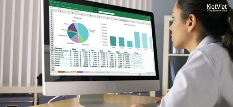 Phần mềm quản lý bán hàng Excel - Đơn giản, miễn phí nhưng nguy hiểm