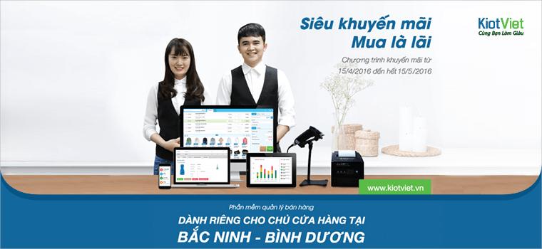 Siêu khuyến mãi cho khách hàng tại Bắc Ninh và Bình Dương