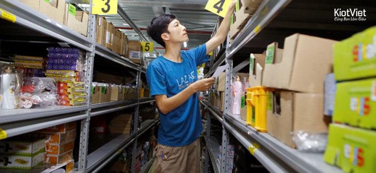 Sơ đồ quản lý kho hàng - vật tư đầy đủ, tránh thất thoát cho cửa hàng bán lẻ