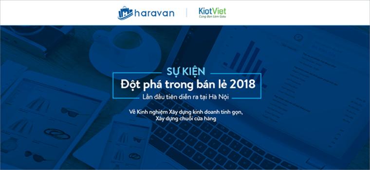 """Sự kiện """"ĐỘT PHÁ TRONG BÁN LẺ 2018"""" lần đầu tiên tại Hà Nội"""