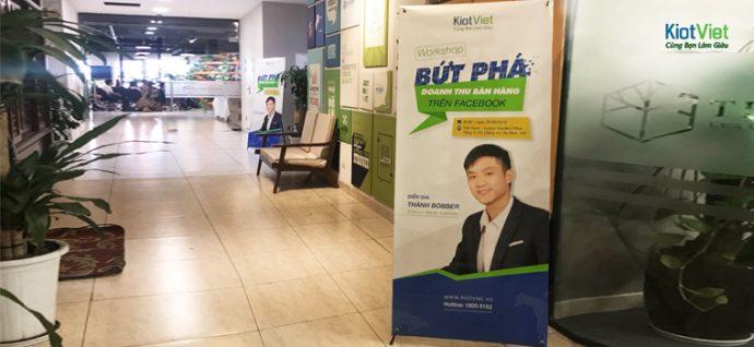 KiotViet khởi động chuỗi workshop 'BỨT PHÁ DOANH THU bán hàng trên Facebook'