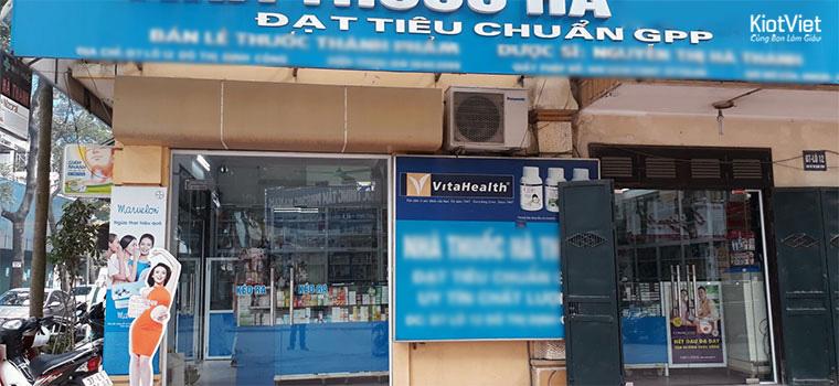 Mở cửa hàng thuốc cần mặt tiền rộng, nhiều cư dân qua lại