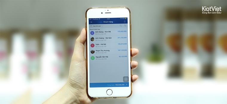 Ứng dụng quản lý khách hàng trên smartphone/tablet