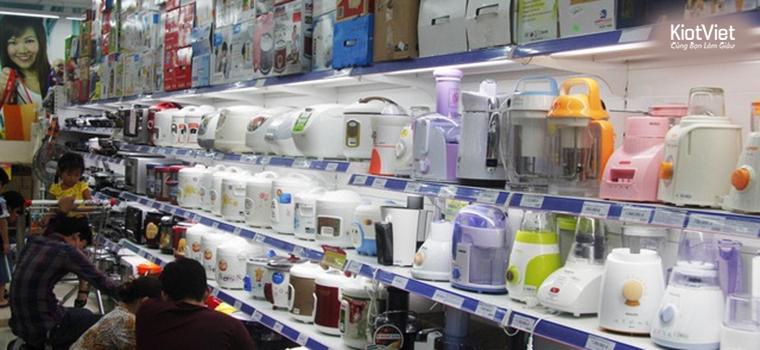 Đồ gia dụng Trung Quốc vẫn được rất nhiều người ưa chuộng vì giá thành