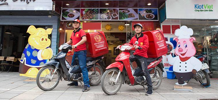 Quản lý nhân viên giao hàng hiệu quả cho cửa hàng
