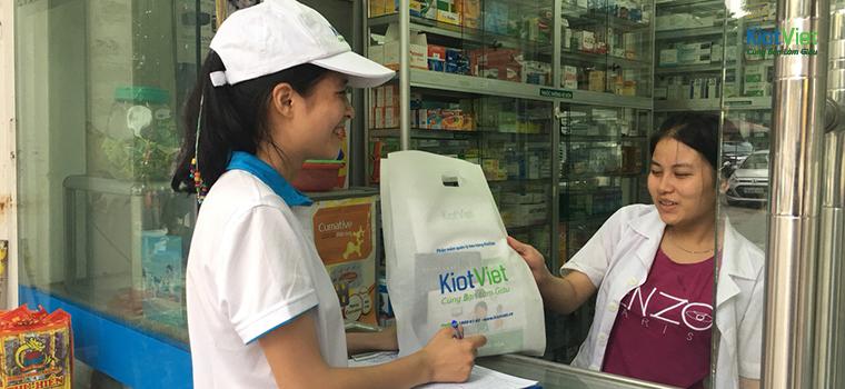 Chương trình Door to Door phủ sóng các CỬA HÀNG BÁN LẺ tại Việt Nam
