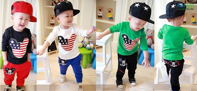 Kinh doanh quần áo trẻ em cần nhiều mẫu
