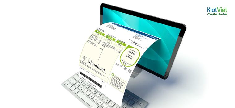 Con số trong hóa đơn bán hàng cần đảm bảo chính xác
