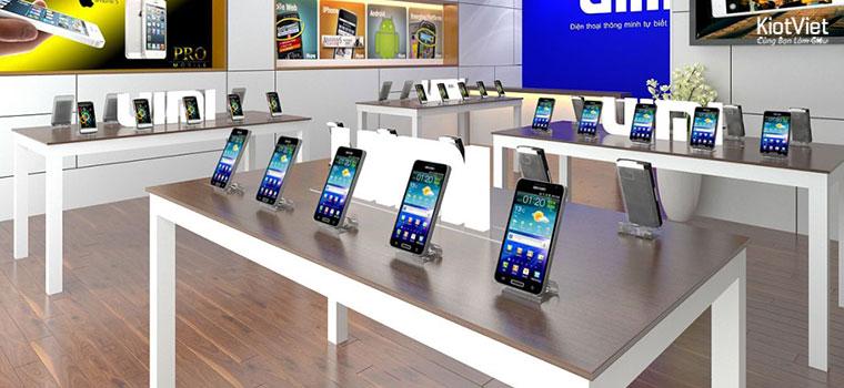 Khách hàng luôn thích xem trực tiếp điện thoại hơn là mua online