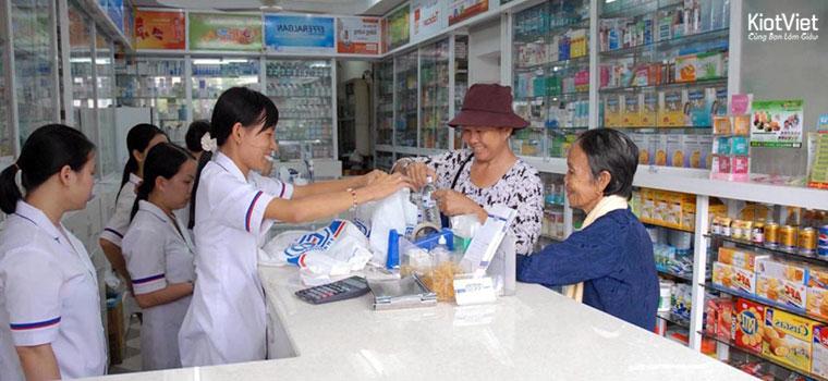 Cần truyền thông cho nhà thuốc để khách hàng có thể biết và mua hàng