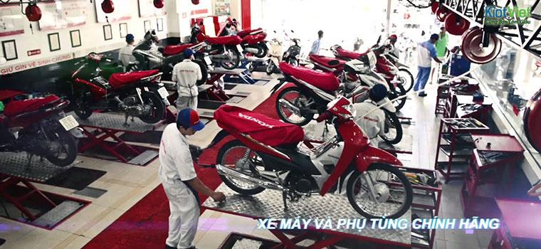 Lấy phụ tùng xe máy chính hãng Honda hoặc các nhà sản xuất khác