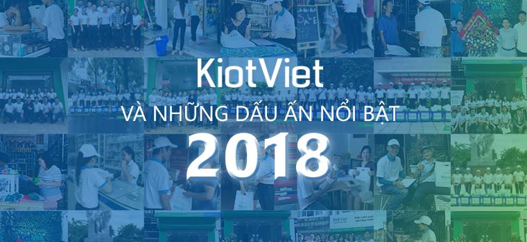 KiotViet và những dấu ấn nổi bật năm 2018