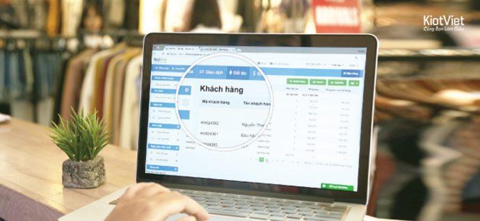 Nên phần mềm quản lý bán hàng để lưu lại thông tin khách hàng